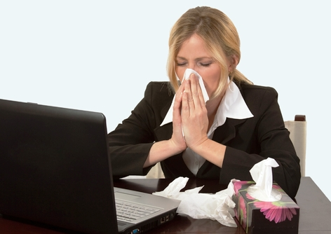 Presenteeism implications of working whilst unwell